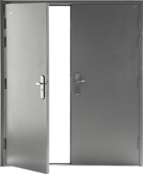 Double Security Door